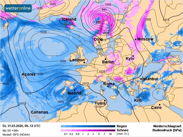 Погода на 31 березня: перший весняний місяць на Київщині завершиться морозами - погода - 31 pogoda
