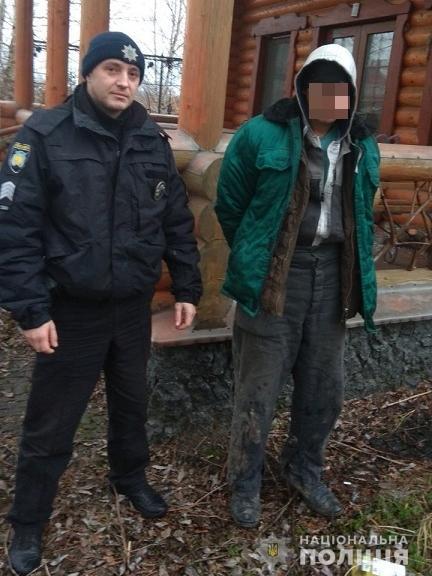 Білогородка: поліція схопила злодія в лазні -  - 45A06764 1236 46CC 9029 C9A48159F4EB