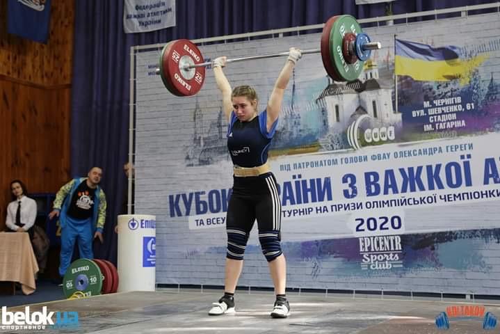 Важкоатлетка з Білої Церкви - переможець Кубку України -  - 777880998