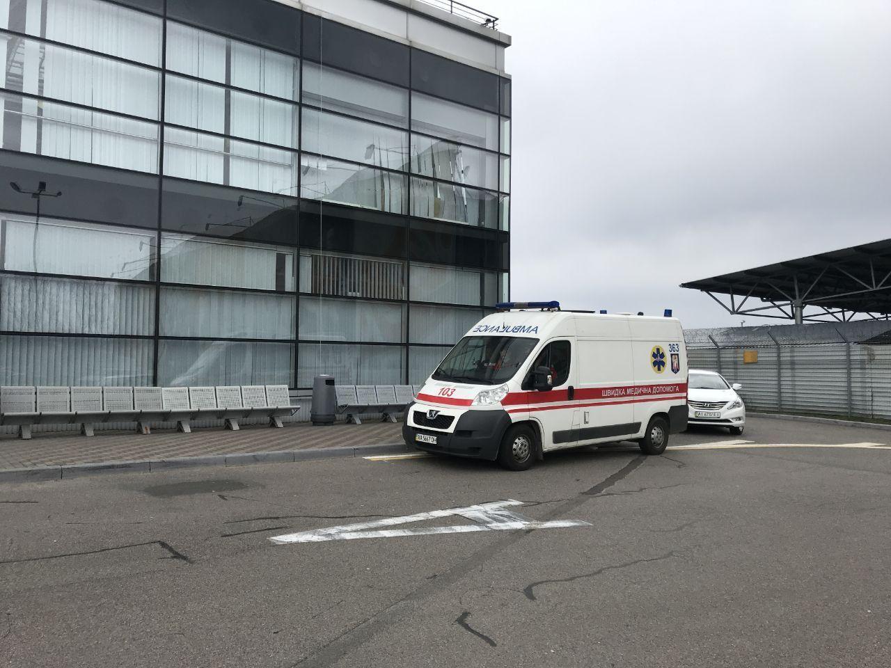 В аеропорту «Бориспіль» приземлився літак, у пасажира якого підозрюють коронавірус