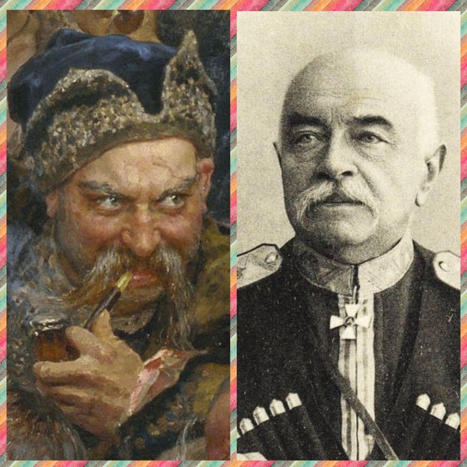 """Хто вони - герої картини Іллі Рєпіна """"Запорожці пишуть листа турецькому султану"""" -  - 86661805 3039925476054412 4884202329013747712 o"""