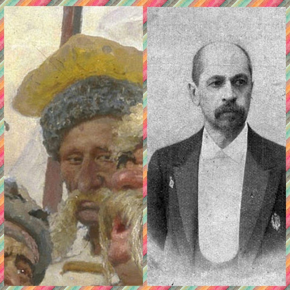 """Хто вони - герої картини Іллі Рєпіна """"Запорожці пишуть листа турецькому султану"""" -  - 86721789 3039926346054325 4094866912868040704 o"""