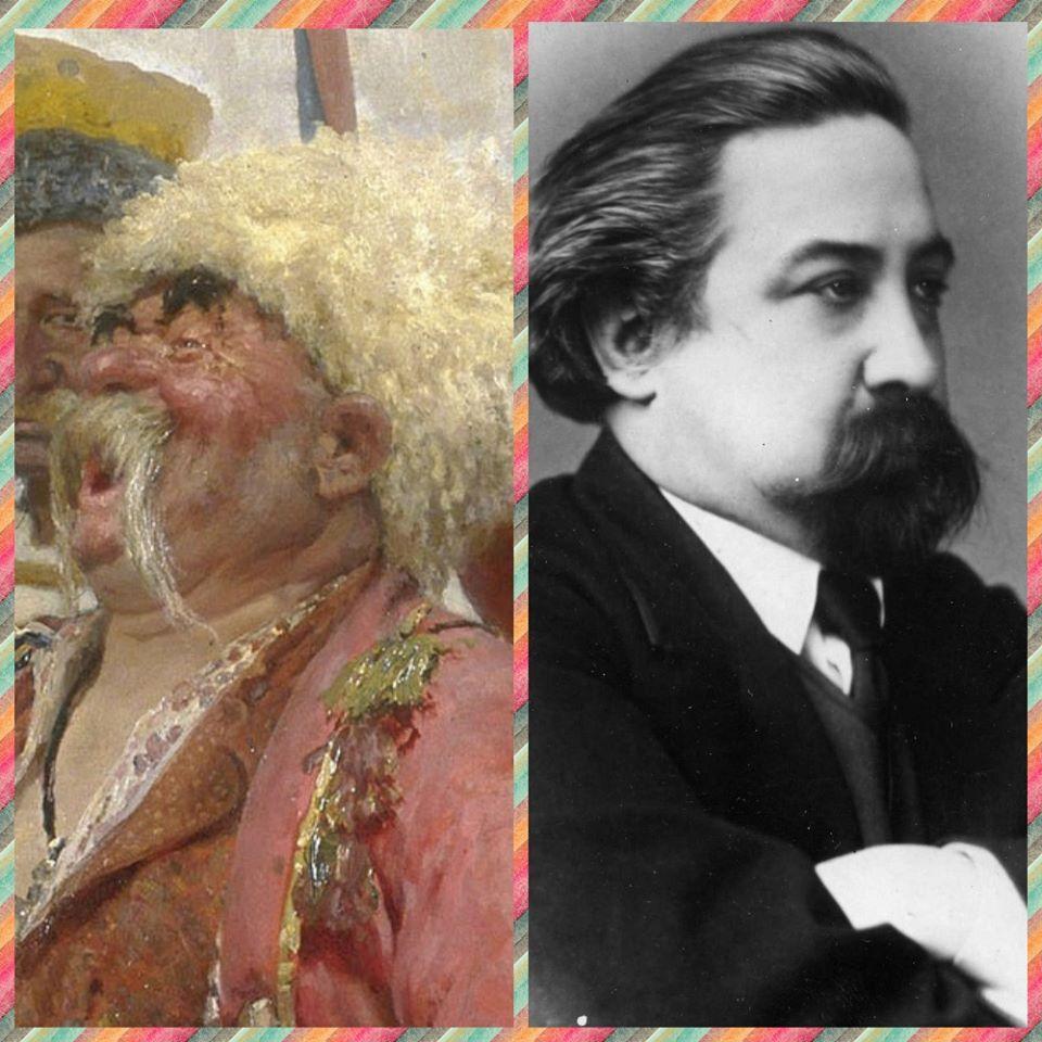 """Хто вони - герої картини Іллі Рєпіна """"Запорожці пишуть листа турецькому султану"""" -  - 86784936 3039925819387711 1054073948980903936 o"""