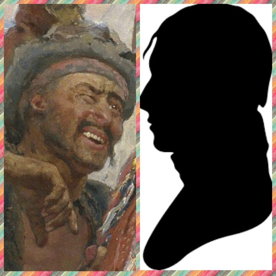 """Хто вони - герої картини Іллі Рєпіна """"Запорожці пишуть листа турецькому султану"""" -  - 87022541 3039932926053667 3071192351566200832 o"""