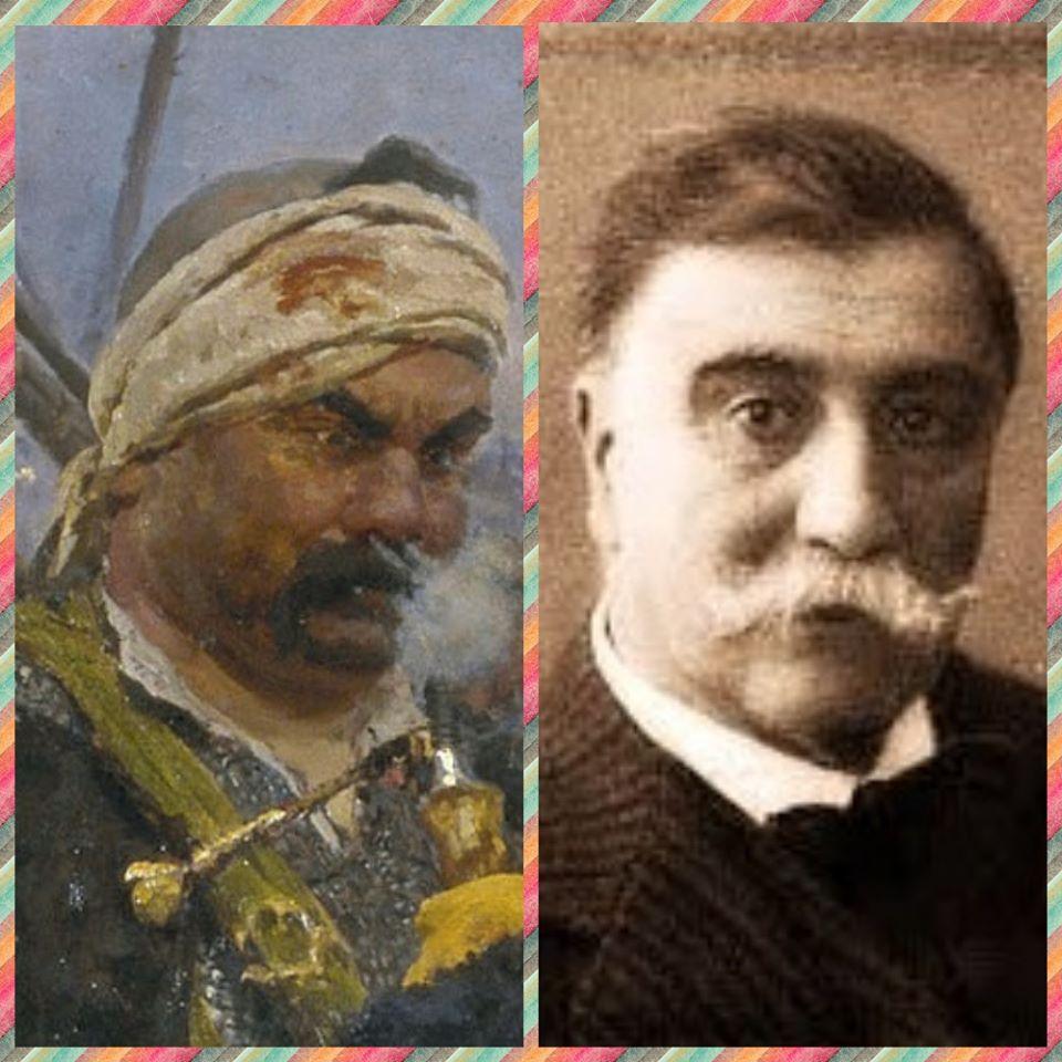 """Хто вони - герої картини Іллі Рєпіна """"Запорожці пишуть листа турецькому султану"""" -  - 87044815 3039926256054334 8201545634340143104 o"""