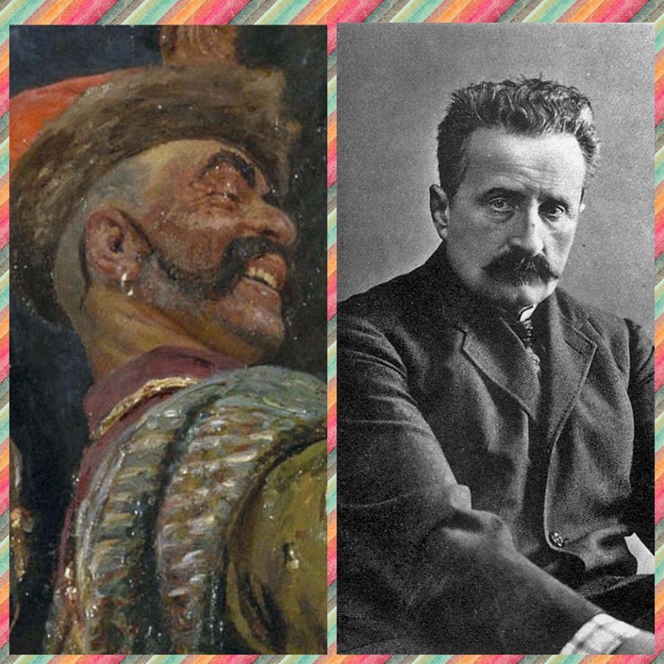 """Хто вони - герої картини Іллі Рєпіна """"Запорожці пишуть листа турецькому султану"""" -  - 87070067 3039926539387639 7705381919860457472 o"""