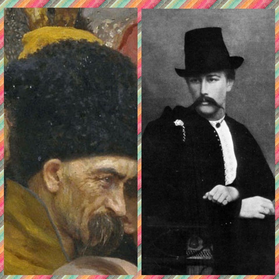 """Хто вони - герої картини Іллі Рєпіна """"Запорожці пишуть листа турецькому султану"""" -  - 87171361 3039926429387650 5638436034011201536 o"""