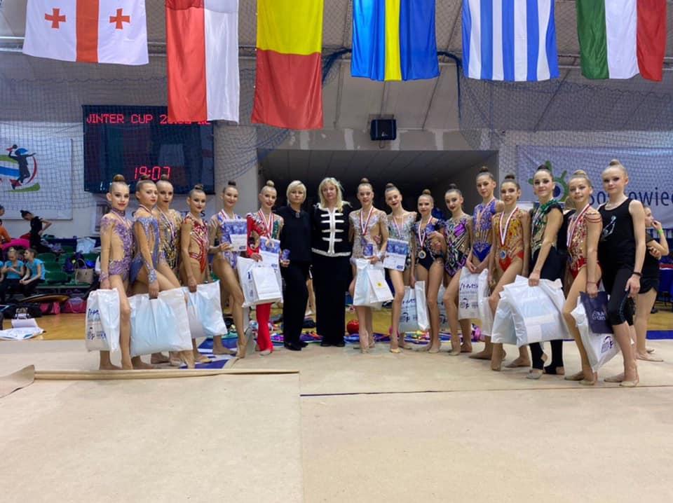 Здобутки художніх гімнасток з Білої Церкви на міжнародному турнірі -  - 88177437 2699567466792259 7701246824132116480 n