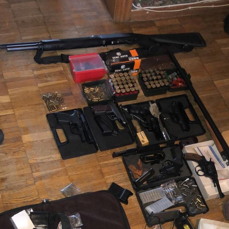 88241723_3227713253906681_4372415112649113600_n У жителя Київщини вилучили арсенал зброї та ліквідували цех з її виготовлення