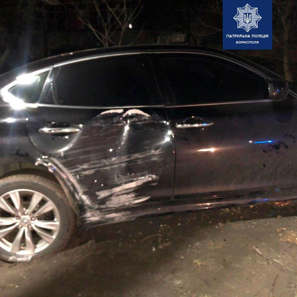 У Борисполі водій легковика в'їхав в електроопору -  - 88331204 2638779843010468 6861832381372825600 o