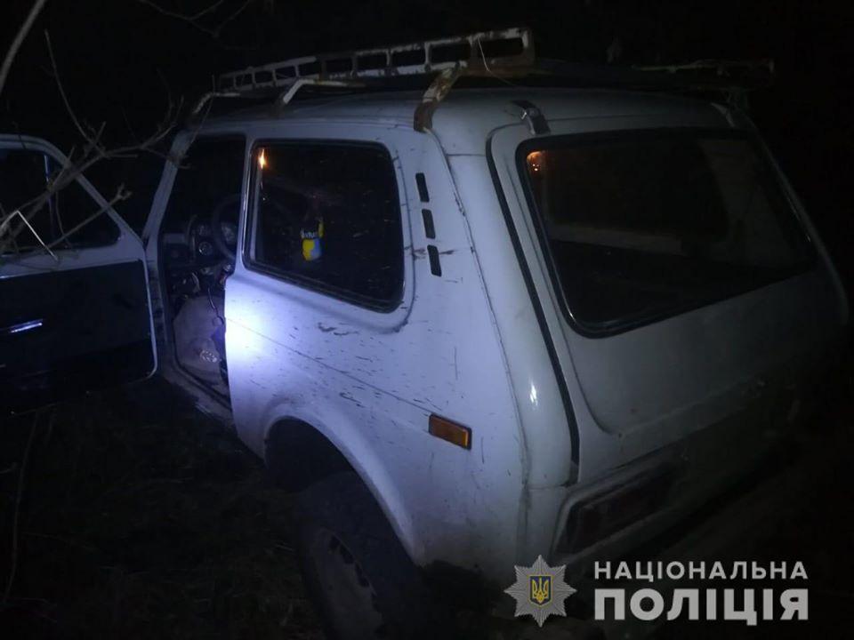 У Яготинському районі викрадач авто тікав від поліції пішки (відео) -  - 88397680 2830019770386510 1350497129868558336 o