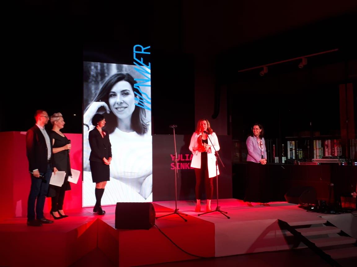Письменниця Оксана Забужко стала цьогорічною лауреаткою премії Women in Arts-2020 -  - 89445938 202214741124357 850175895636279296 n