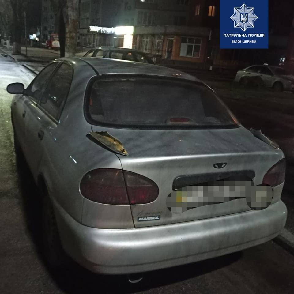 У Білій Церкві серед ночі намагались вкрасти авто - Патрульна поліція Білої Церкви, крадіжка авто - 89511160 1601433076690413 1852778063188721664 n