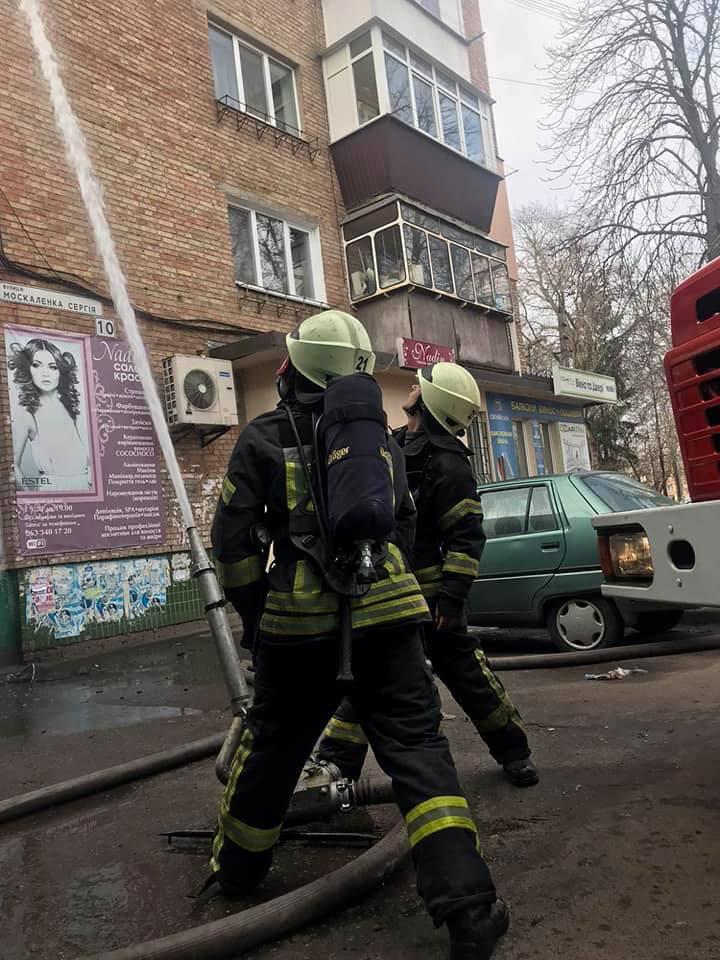 У Броварах на Торгмаші вогонь знищив квартиру -  - 89534766 1538410182975889 3011289356062162944 n
