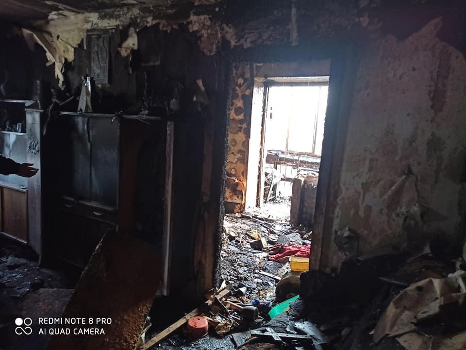 У Броварах на Торгмаші вогонь знищив квартиру -  - 89538223 1538410342975873 1950212922466631680 n