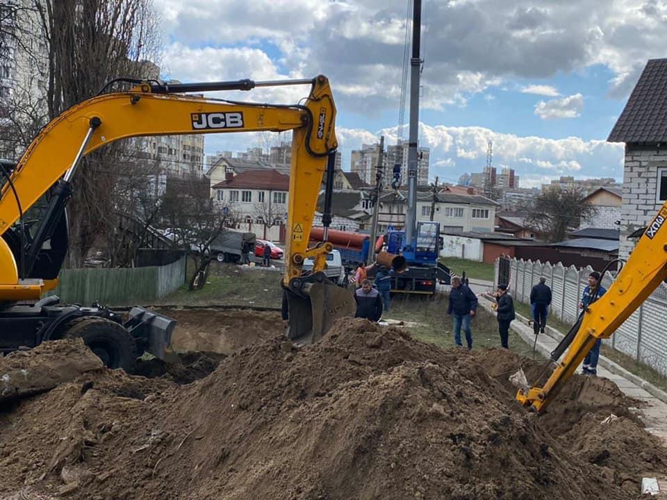Аварія на колекторі: Ірпінь, Буча та кілька смт Київщини лишились без води -  - 89557174 1842110292591390 8002654112703315968 n