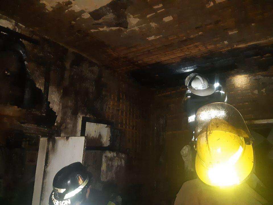 Пожежа на Броварщині: згоріли покрівля, перекриття та стіни житлового будинку -  - 89595482 1540143786135862 2716916991993577472 o