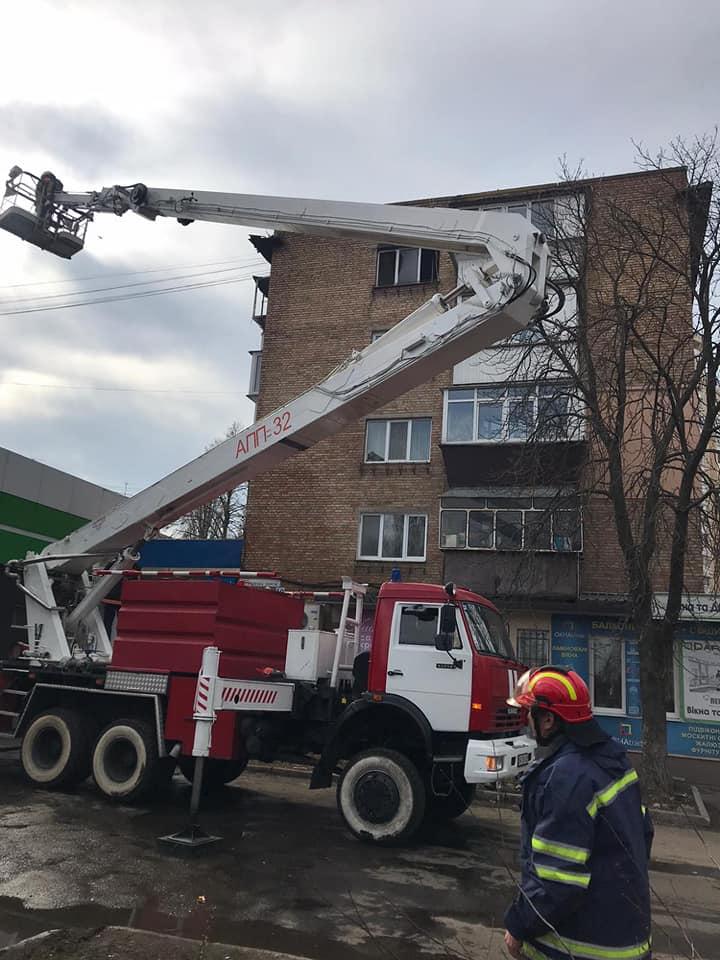 У Броварах на Торгмаші вогонь знищив квартиру -  - 89597771 1538410292975878 3085162849387937792 n