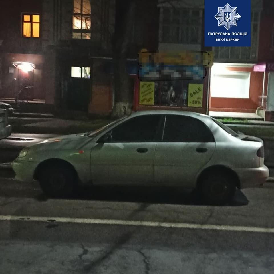У Білій Церкві серед ночі намагались вкрасти авто - Патрульна поліція Білої Церкви, крадіжка авто - 89767884 1601433120023742 7022091466751082496 n
