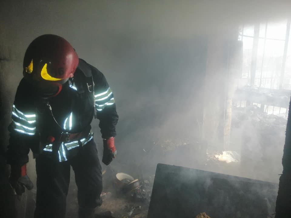 У Броварах на Торгмаші вогонь знищив квартиру -  - 89771933 1538410406309200 8764021809919033344 n