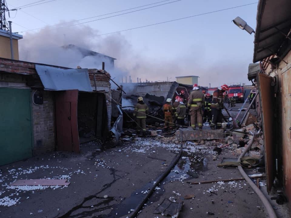 У Деснянському районі столиці прогримів вибух -  - 90382631 949522758777144 6119663544452513792 n