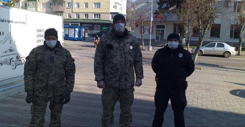 90874969_563593244275913_984404683177066496_n У Білій Церкві військові почали патрулювати вулиці міста