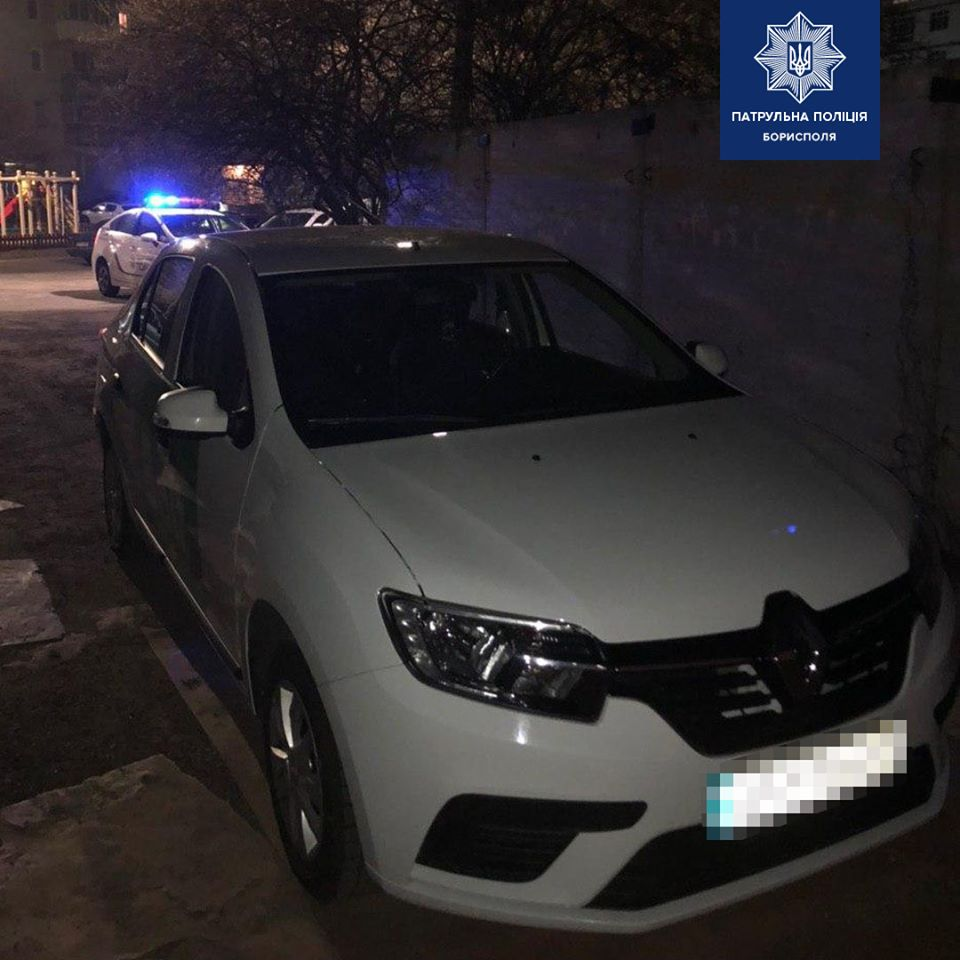 У Борисполі чоловік виштовхав таксиста та викрав автомобіль -  - 91369737 2662014937353625 1396526698106716160 o