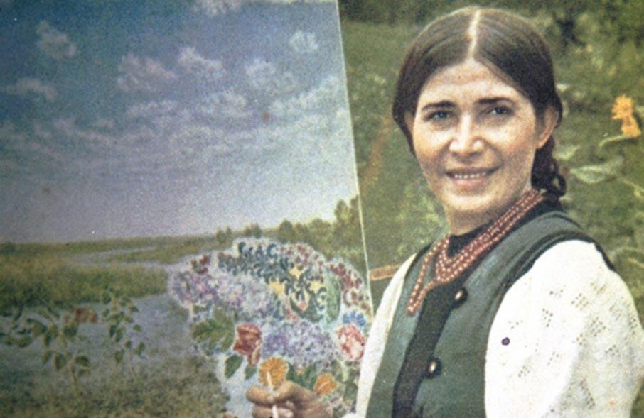 Про Катерину Білокур – в онлайні - Яготинський район, художниця, Україна, київщина, відео, Богданівка - Bilokur1