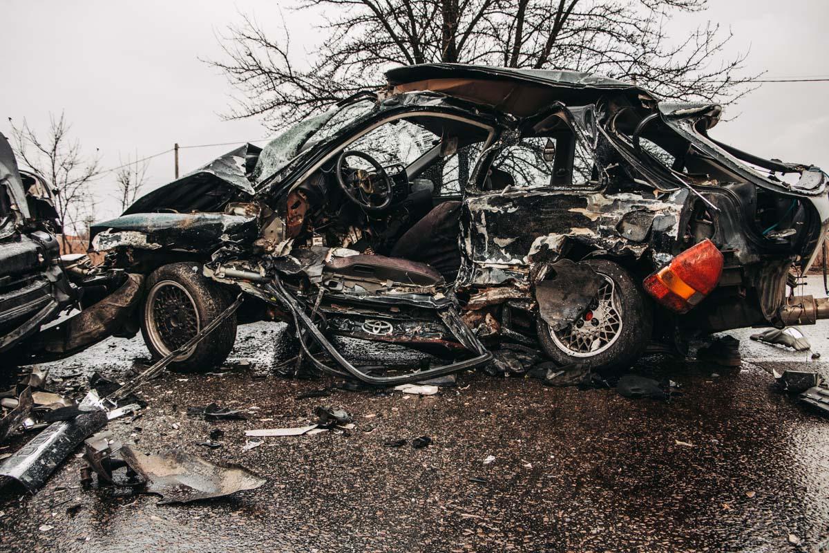 Toyota vs Honda: чергова смертельна ДТП на Бориспільщині -  - DTP 10