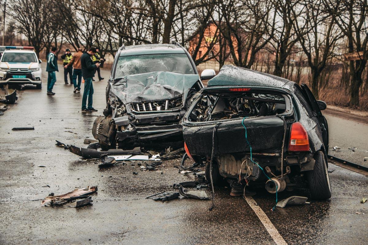 Toyota vs Honda: чергова смертельна ДТП на Бориспільщині -  - DTP 15