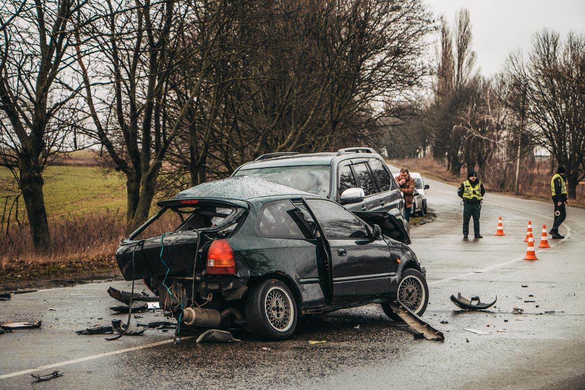 Toyota vs Honda: чергова смертельна ДТП на Бориспільщині -  - DTP 21