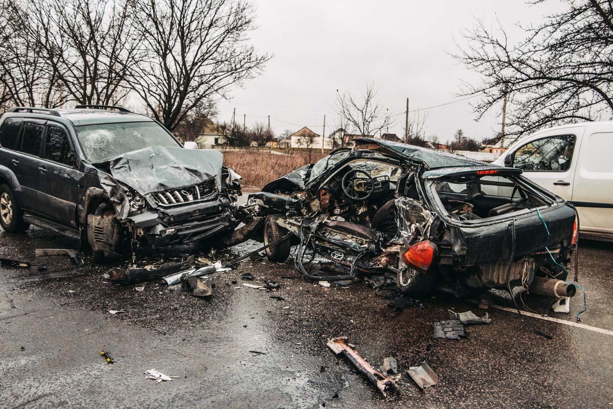 Toyota vs Honda: чергова смертельна ДТП на Бориспільщині -  - DTP 4