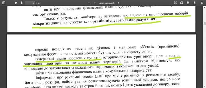 Знову порушила закон: Попсуй не оприлюднила Генплан Ірпеня на державному порталі відкритих даних -  - FB IMG 1583319251039