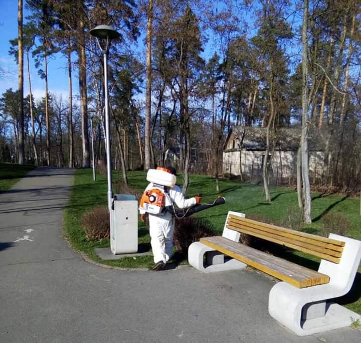 Карантин: у Бучі заборонили відвідувати парки і сквери -  - FB IMG 1584712743940