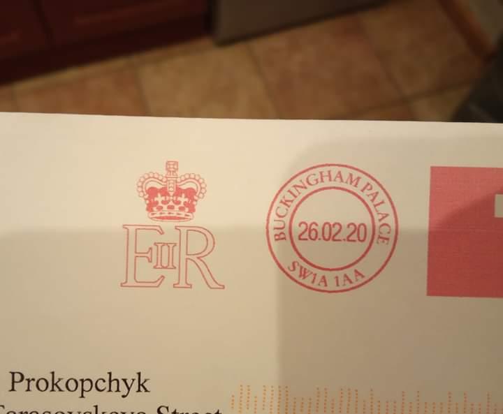 Дівчинка з Бучі отримала лист від королеви Великобританії -  - FB IMG 1585236138540