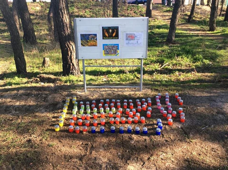 У Гостомелі відновлюють знесений паркан у куточку природи, де хочуть облаштувати автомийку - Приірпіння, Нелюбін, київщина, ірпінь, Ірпінська міська рада, забудова зелених зон, Гостомель, Герої Небесної сотні - Gost Nelyub 5 1