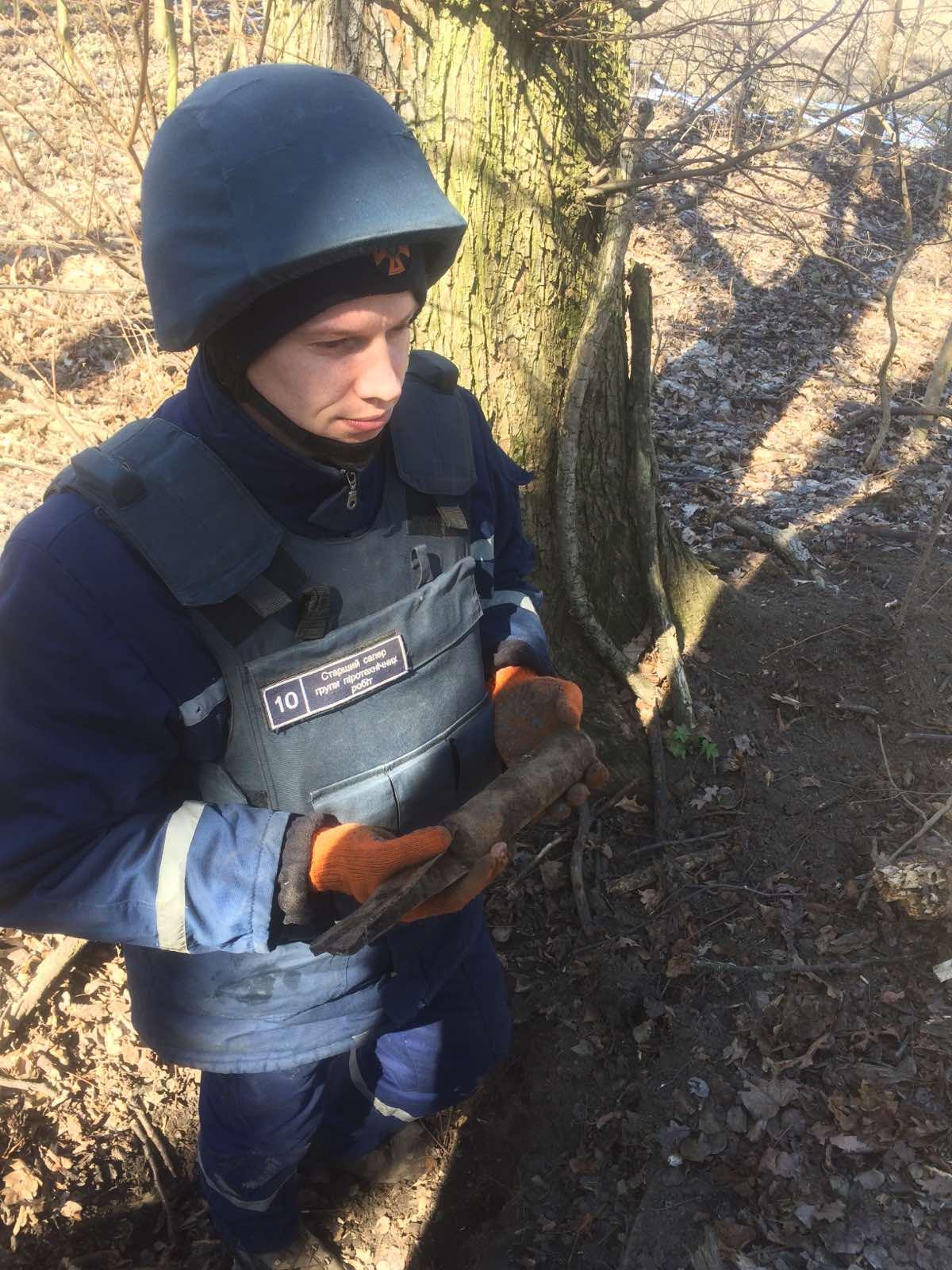 На Білоцерківщині знищили арсенал вибухонебезпечних предметів - Білоцерківський район - IMG 0c87b5be450c972f1e97d871ca56b41b V