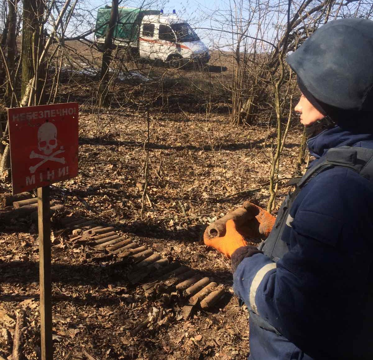 На Білоцерківщині знищили арсенал вибухонебезпечних предметів - Білоцерківський район - IMG 3efafe3ff23a5f42205bdc60b26cc96f V