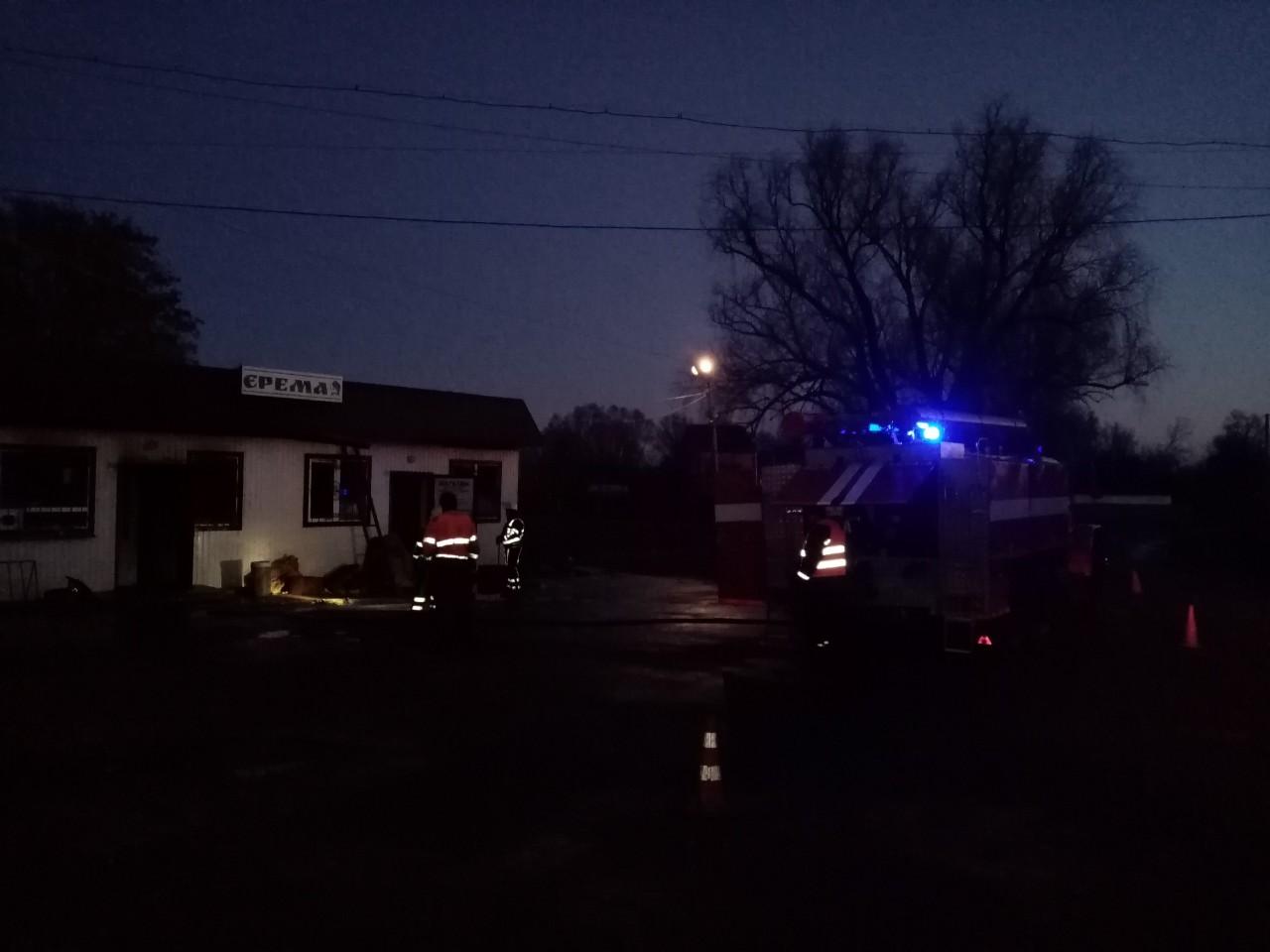 """У Заворичах на Броварщині сталася пожежа в магазині """"Єрема"""" -  - IMG e12ce73c6f3d0b9491f8ad342ae68e7f V"""