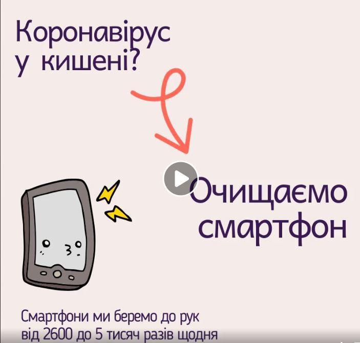 Дезінфекція для смартфона від зараження на коронавірус - Україна світ, Україна, смартфон, коронавірус - Kor gad