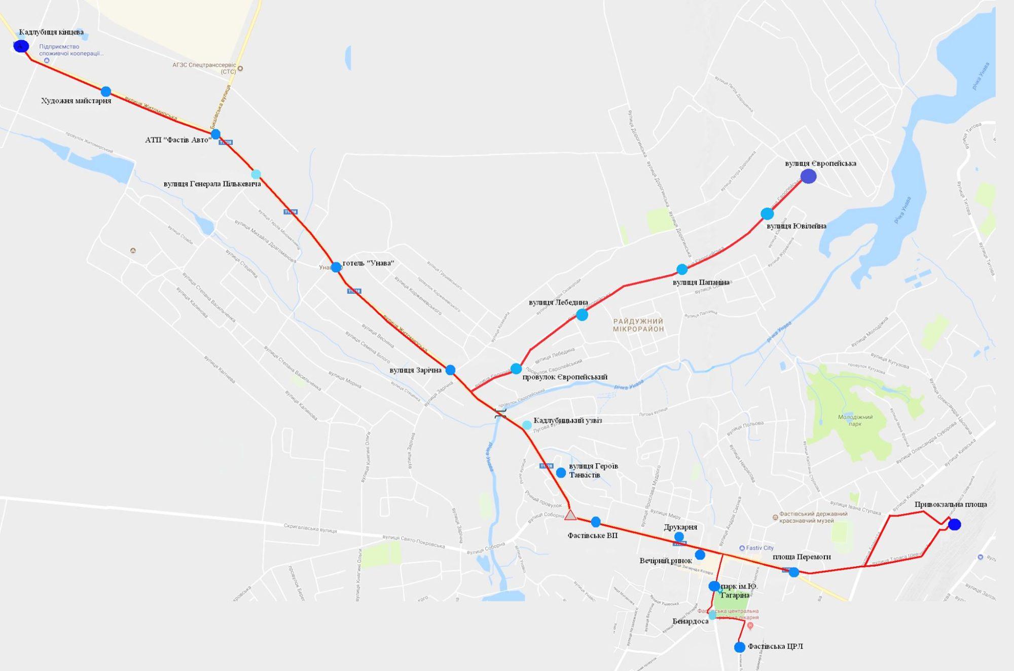 У Фастові оприлюднили уточнений розклад міських перевезень за перепустками - Фастів, карантин - Marshrut 1 5 2000x1325
