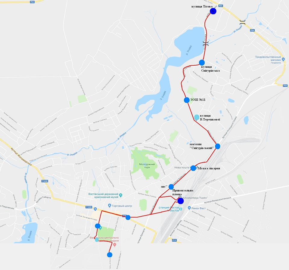 У Фастові оприлюднили уточнений розклад міських перевезень за перепустками - Фастів, карантин - Marshrut 10
