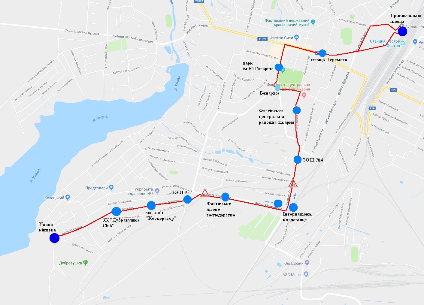 У Фастові оприлюднили уточнений розклад міських перевезень за перепустками - Фастів, карантин - Marshrut 2