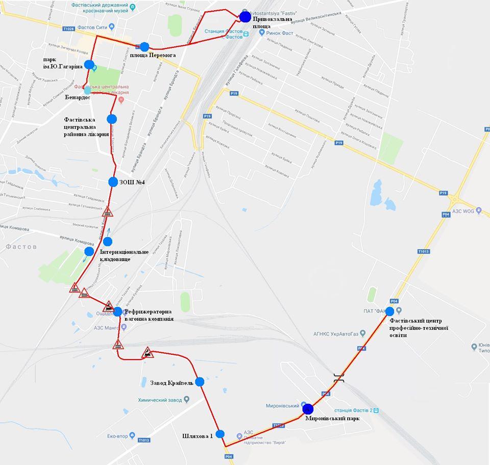 У Фастові оприлюднили уточнений розклад міських перевезень за перепустками - Фастів, карантин - Marshrut 4