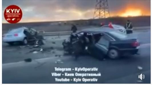 Неподалік Ірпеня сталася серйозна ДТП (відео) -  - Novyj rysunok 4