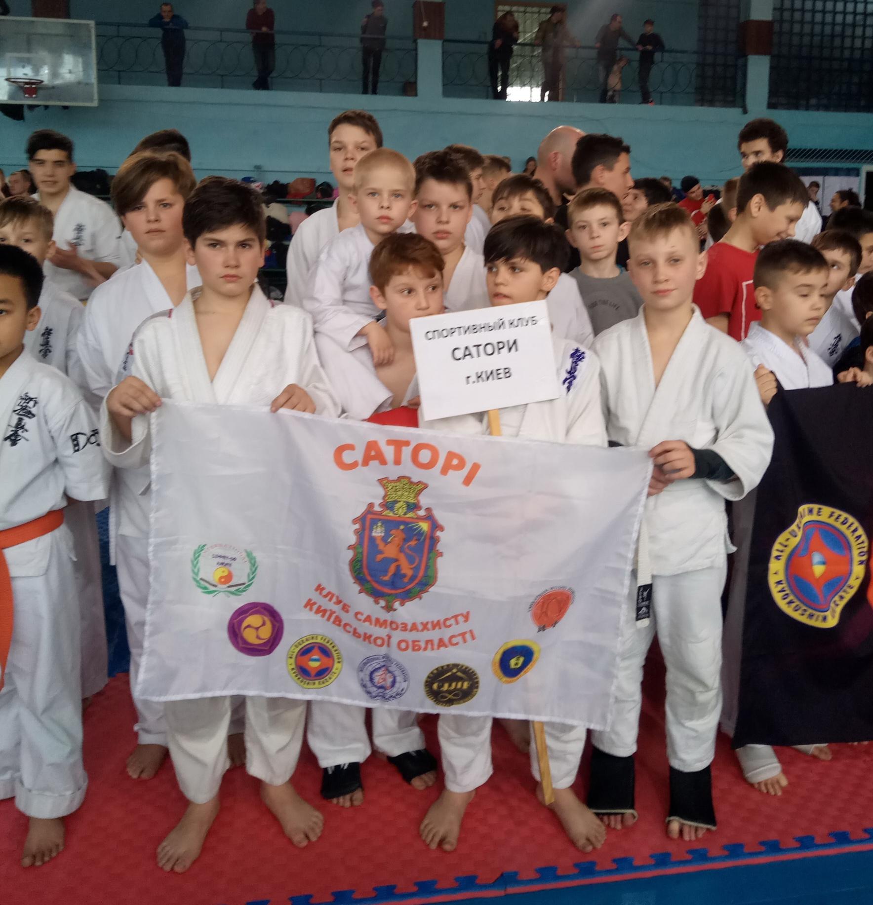 11 нагород васильківських спортсменів на «Кубку Чорного моря» з контактного карате -  - P00229 141213