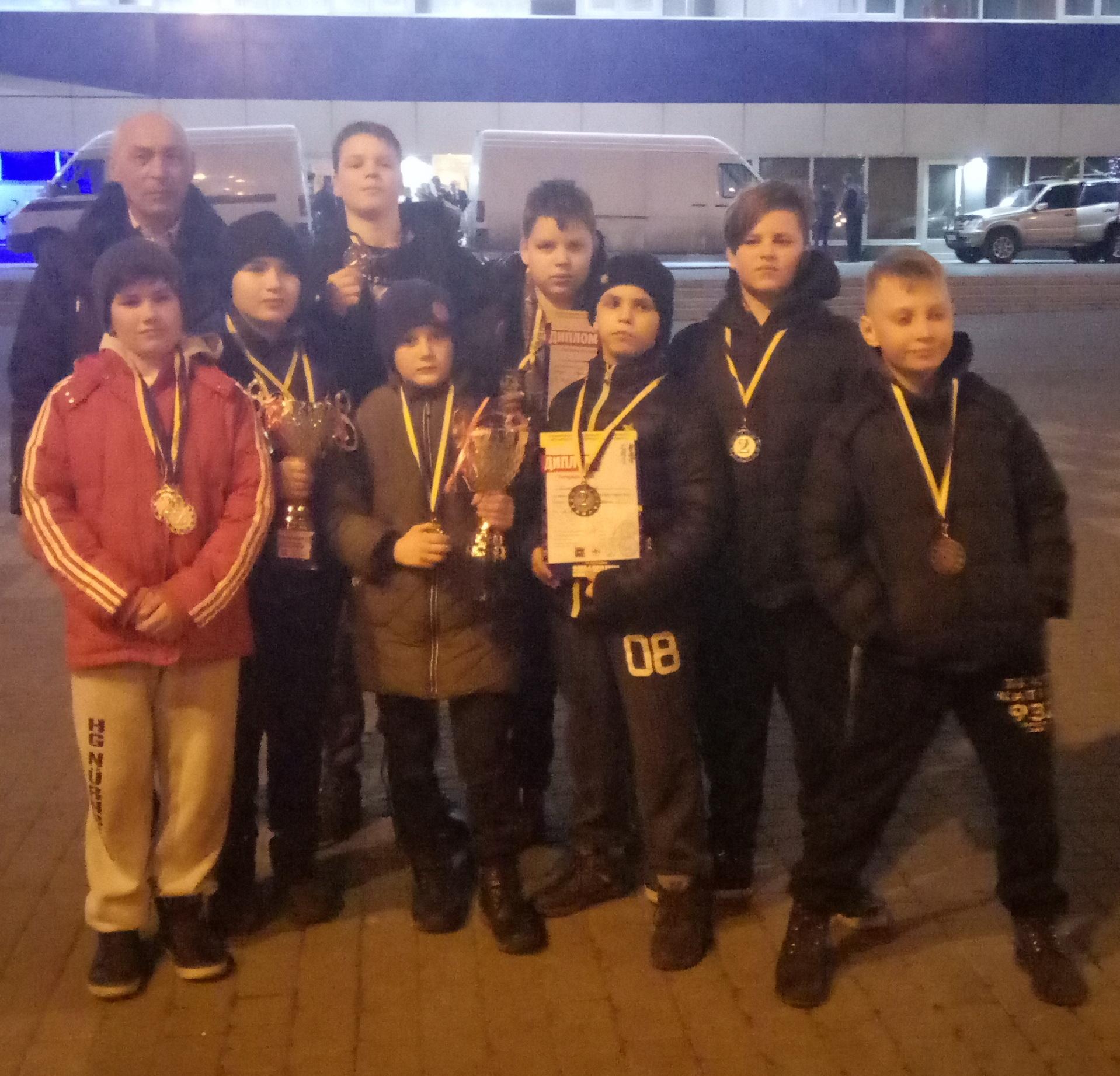 11 нагород васильківських спортсменів на «Кубку Чорного моря» з контактного карате -  - P00229 200857