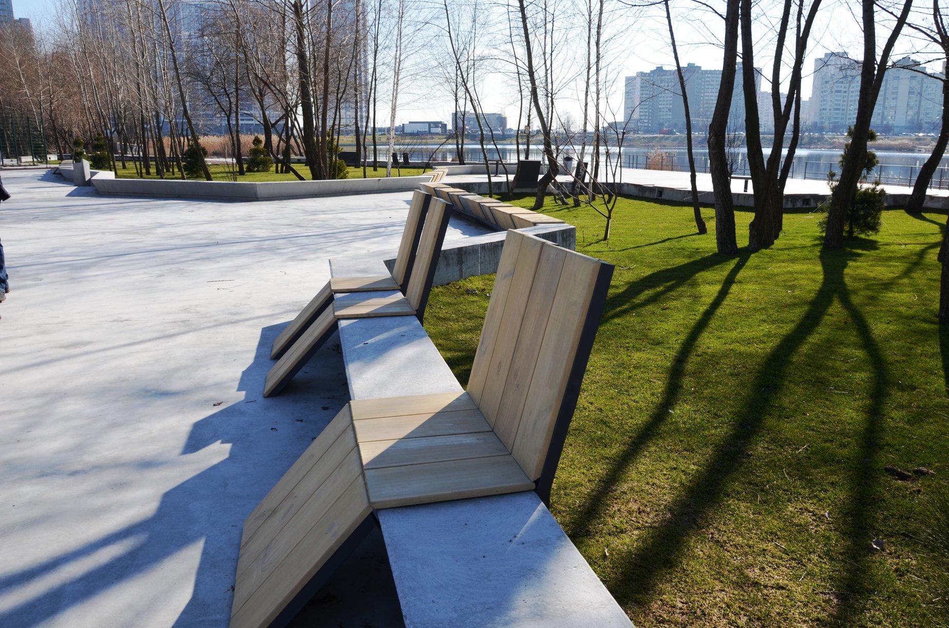 Навесні у Києві відкриють фітнес парк - Позняки - ParkPoz2