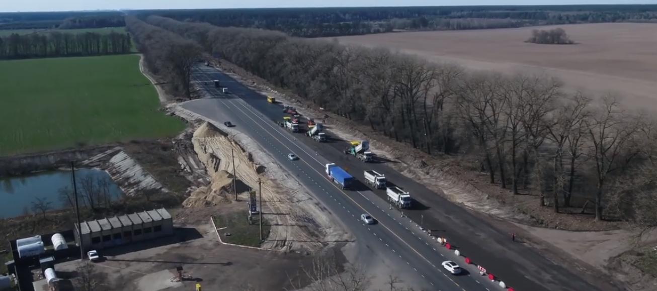 На Броварщині продовжують ремонт на автодорозі державного значення М-01 -  - Screenshot 21