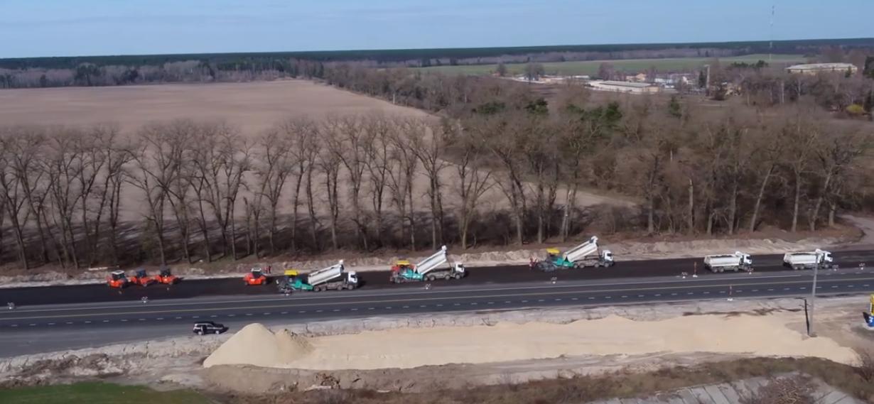 На Броварщині продовжують ремонт на автодорозі державного значення М-01 -  - Screenshot 23